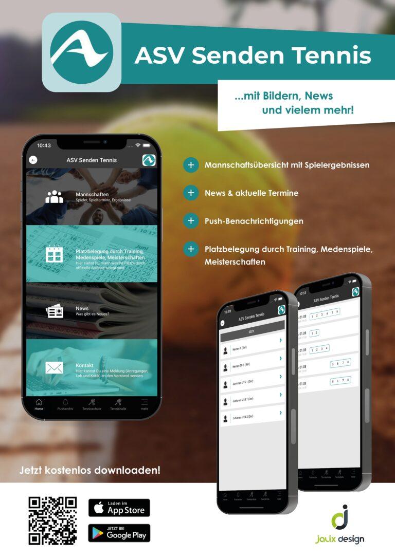 Unsere Vereins-App ist jetzt online!